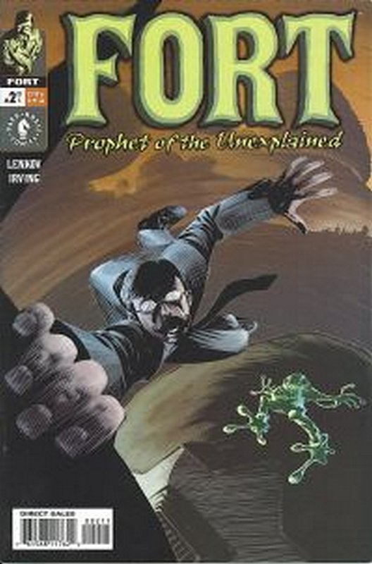 Cover of Fort: Prophet of the Unexplained (2002 Ltd) #2. One of 250,000 Vintage American Comics on sale from Krypton!