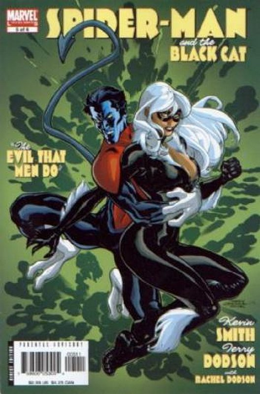 Cover of Spider-Man/Black Cat: The Evil That Men Do #5. One of 250,000 Vintage American Comics on sale from Krypton!