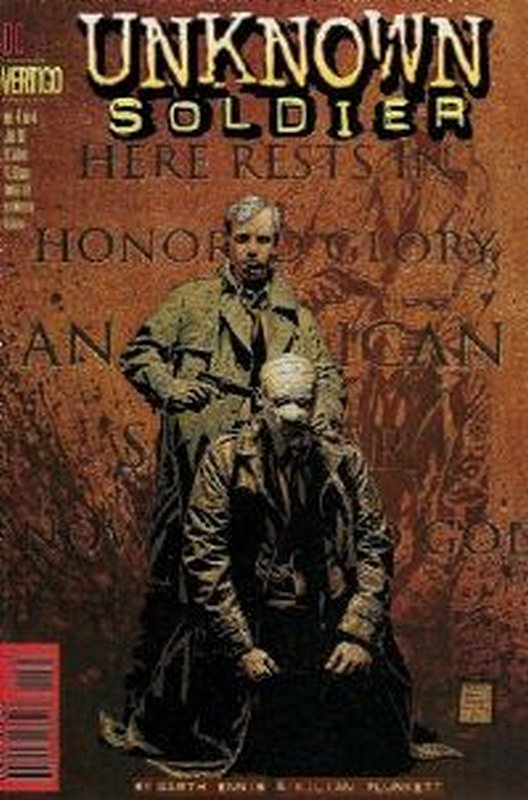 Cover of Unknown Soldier (1997 Ltd) #4. One of 250,000 Vintage American Comics on sale from Krypton!