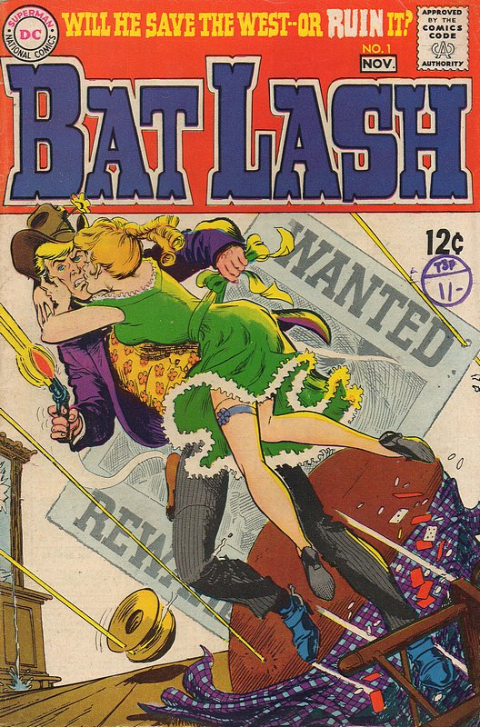 Cover of Bat Lash (Vol 1) #1. One of 250,000 Vintage American Comics on sale from Krypton!