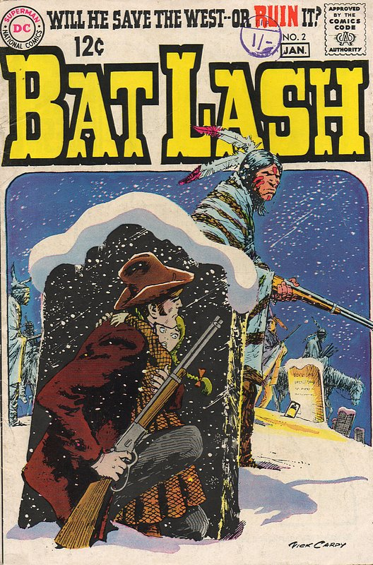 Cover of Bat Lash (Vol 1) #2. One of 250,000 Vintage American Comics on sale from Krypton!
