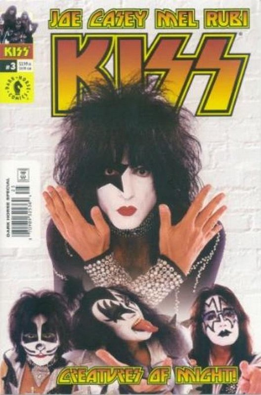 Cover of Kiss (2002 Ltd) #3. One of 250,000 Vintage American Comics on sale from Krypton!