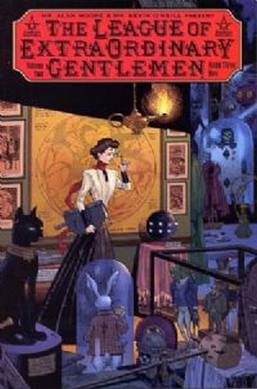 Cover of League (Vol 2) of Extraordinary Gentlemen #3. One of 250,000 Vintage American Comics on sale from Krypton!