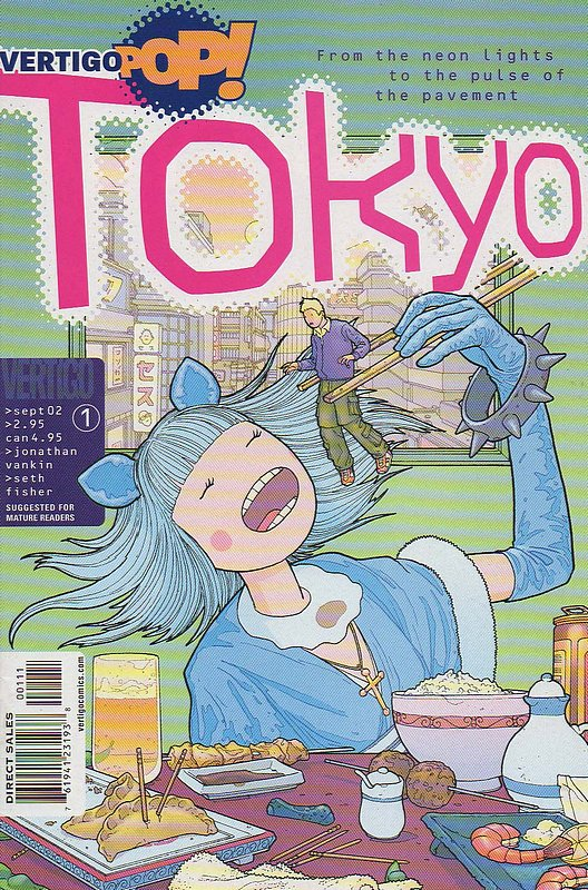 Cover of Vertigo Pop: Tokyo (2002 Ltd) #1. One of 250,000 Vintage American Comics on sale from Krypton!