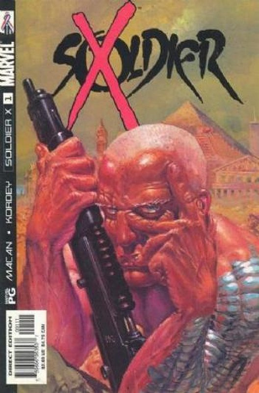 Cover of Soldier X (Vol 1) #1. One of 250,000 Vintage American Comics on sale from Krypton!