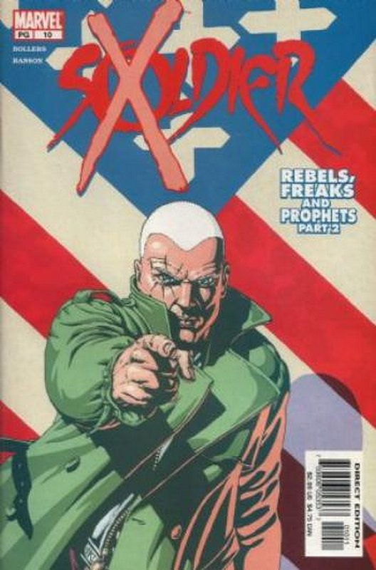 Cover of Soldier X (Vol 1) #10. One of 250,000 Vintage American Comics on sale from Krypton!