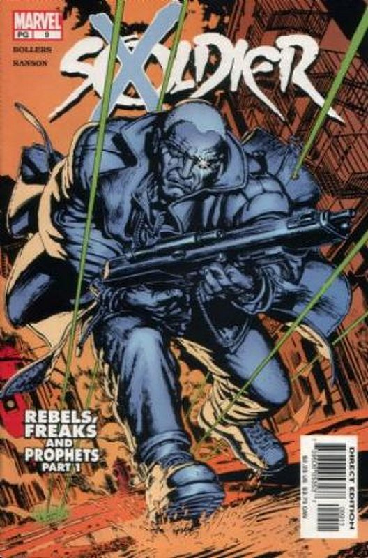 Cover of Soldier X (Vol 1) #9. One of 250,000 Vintage American Comics on sale from Krypton!