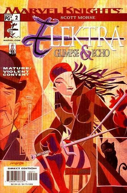 Cover of Elektra: Glimpse & Echo (2002 Ltd) #2. One of 250,000 Vintage American Comics on sale from Krypton!