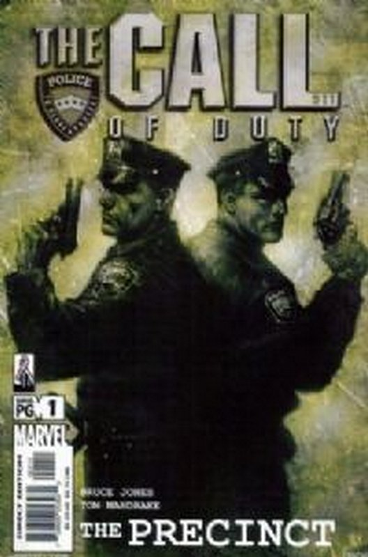 Cover of Call of Duty: The Precinct (2002 Ltd) #1. One of 250,000 Vintage American Comics on sale from Krypton!