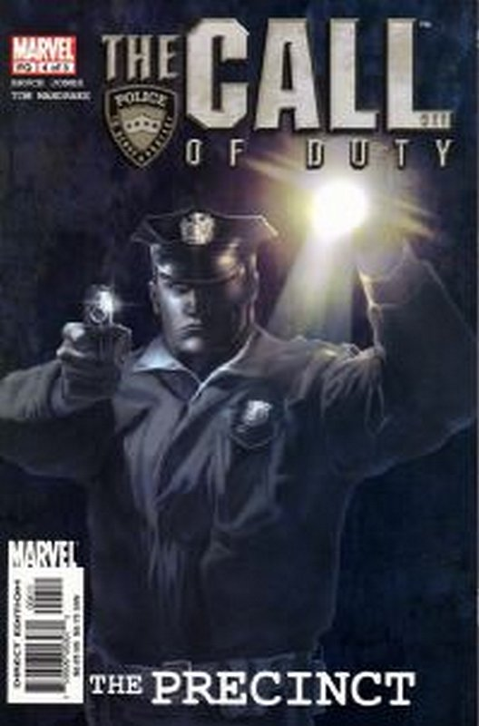 Cover of Call of Duty: The Precinct (2002 Ltd) #4. One of 250,000 Vintage American Comics on sale from Krypton!