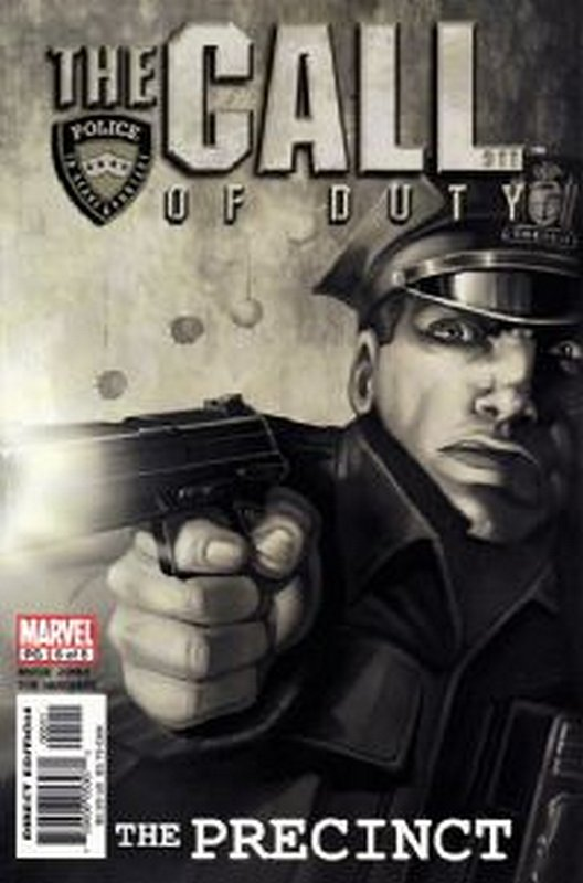 Cover of Call of Duty: The Precinct (2002 Ltd) #5. One of 250,000 Vintage American Comics on sale from Krypton!