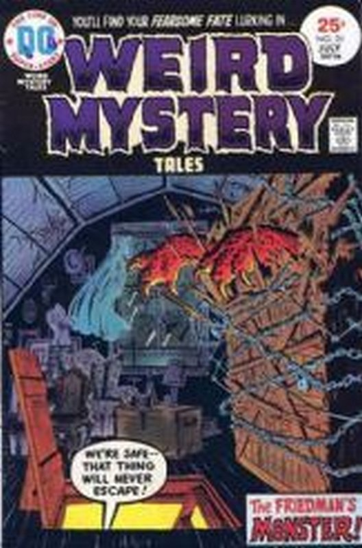 Cover of Weird Mystery Tales (Vol 1) #20. One of 250,000 Vintage American Comics on sale from Krypton!