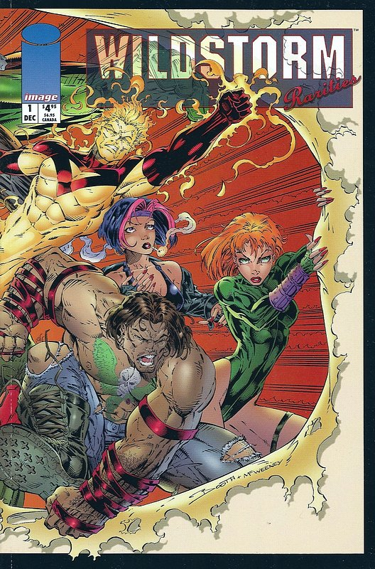 Cover of Wildstorm Rarities (1994 One Shot) #1. One of 250,000 Vintage American Comics on sale from Krypton!