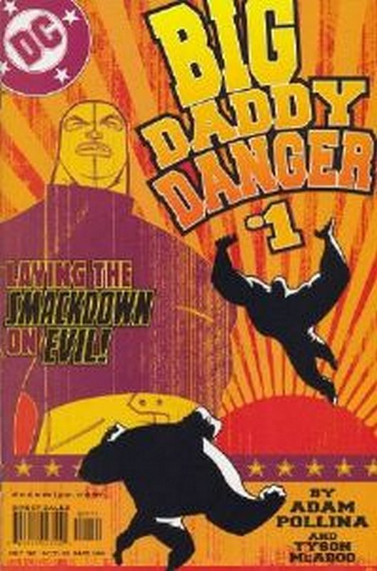 Cover of Big Daddy Danger (2002 Ltd) #1. One of 250,000 Vintage American Comics on sale from Krypton!