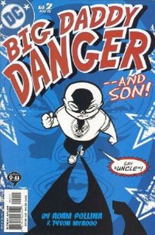 Cover of Big Daddy Danger (2002 Ltd) #2. One of 250,000 Vintage American Comics on sale from Krypton!