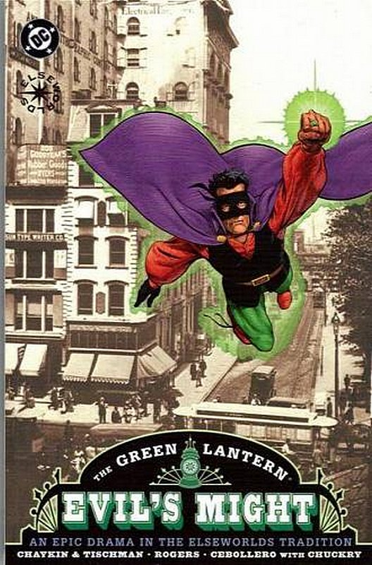 Cover of Green Lantern: Evils Might (2002 Ltd) #1. One of 250,000 Vintage American Comics on sale from Krypton!