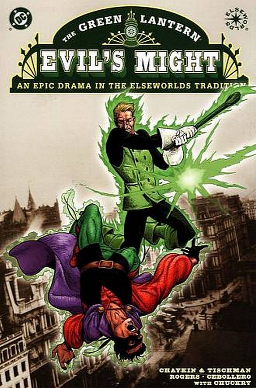 Cover of Green Lantern: Evils Might (2002 Ltd) #3. One of 250,000 Vintage American Comics on sale from Krypton!