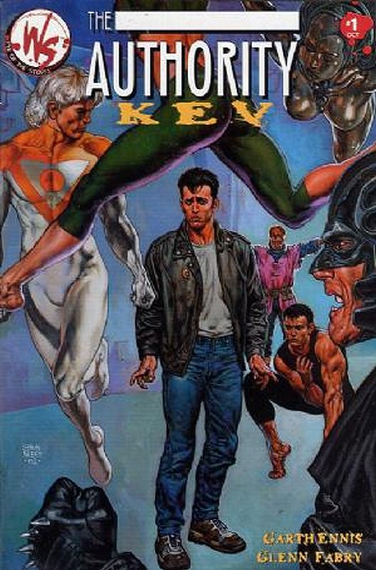 Cover of Authority: Kev (2002 One Shot) #1. One of 250,000 Vintage American Comics on sale from Krypton!