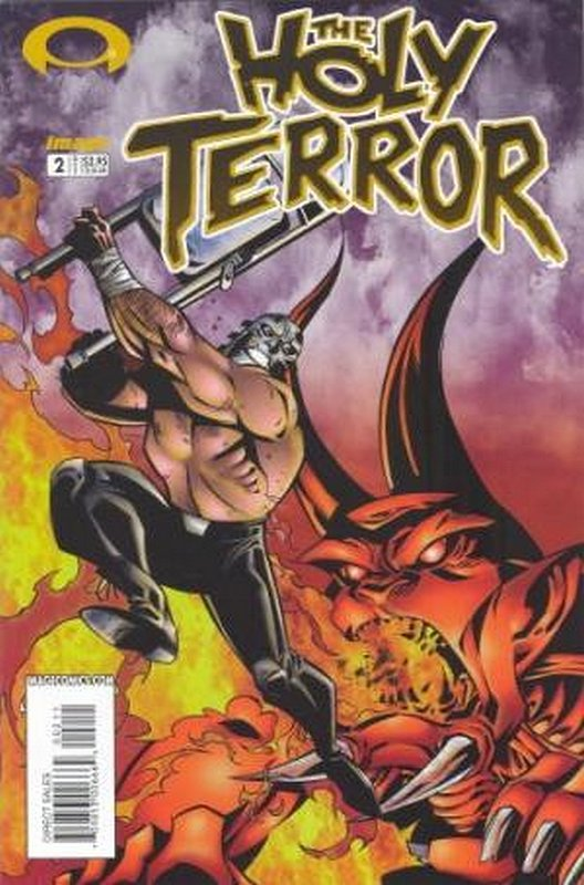 Cover of Holy Terror (2002 Ltd) #2. One of 250,000 Vintage American Comics on sale from Krypton!