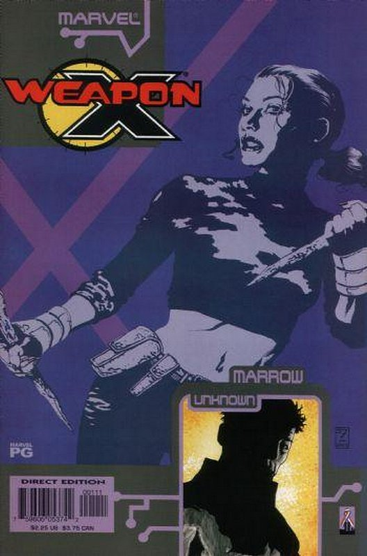 Cover of Weapon X: The Draft - Marrow (2002 One Shot) #1. One of 250,000 Vintage American Comics on sale from Krypton!