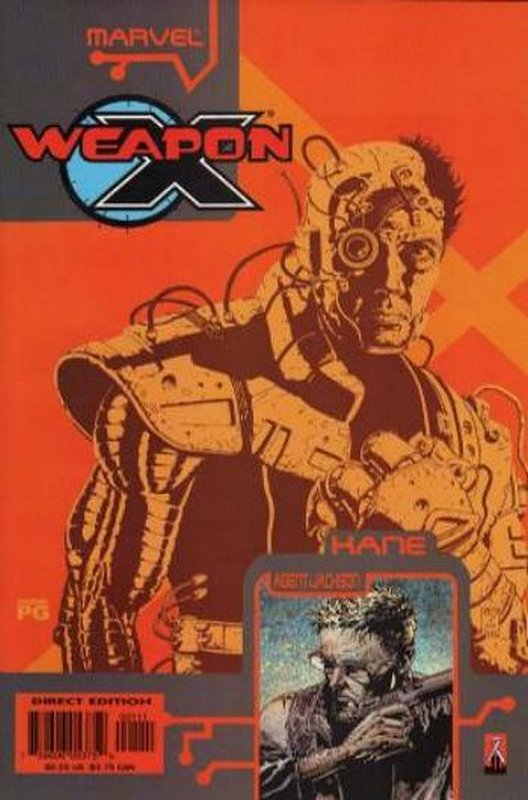 Cover of Weapon X: The Draft - Kane #1. One of 250,000 Vintage American Comics on sale from Krypton!