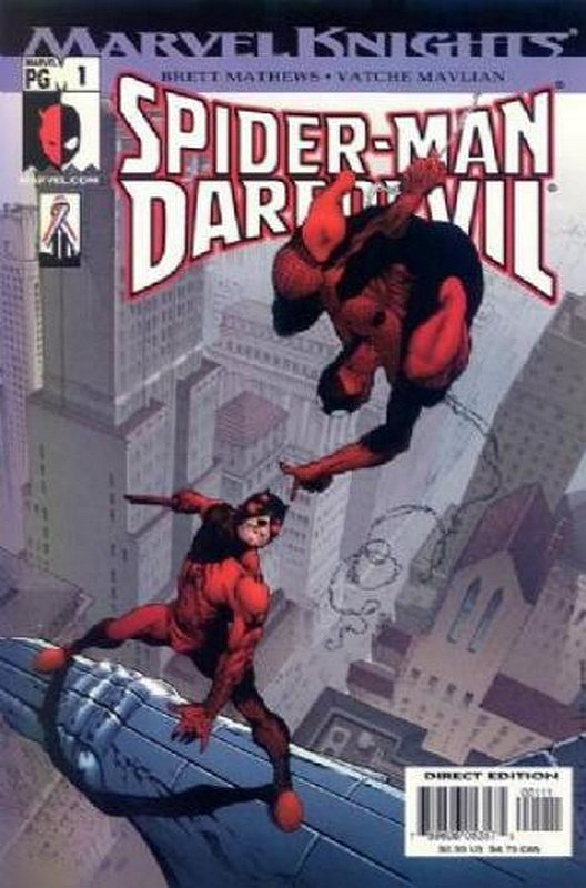 Cover of Spider-Man/Daredevil (2002 One Shot) #1. One of 250,000 Vintage American Comics on sale from Krypton!