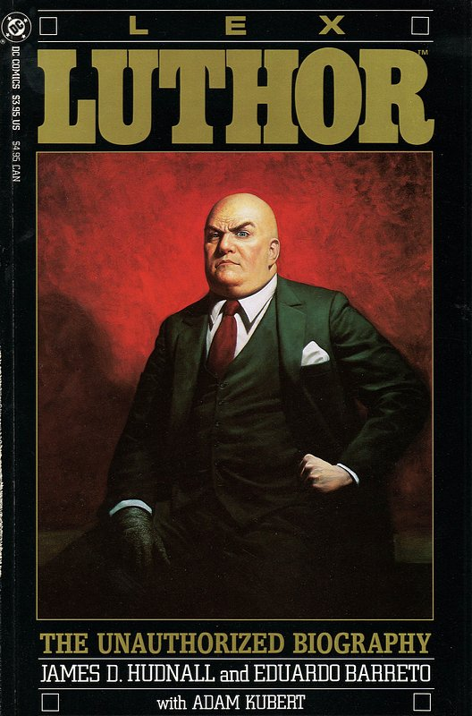 Cover of Lex Luthor (1989 One Shot) Unauthorized Biography #1. One of 250,000 Vintage American Comics on sale from Krypton!