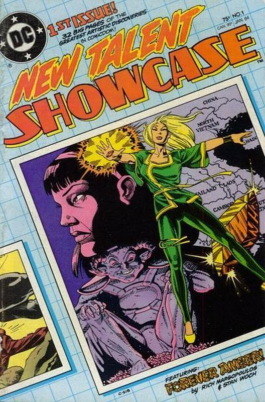 Cover of New Talent Showcase (Vol 1) #1. One of 250,000 Vintage American Comics on sale from Krypton!