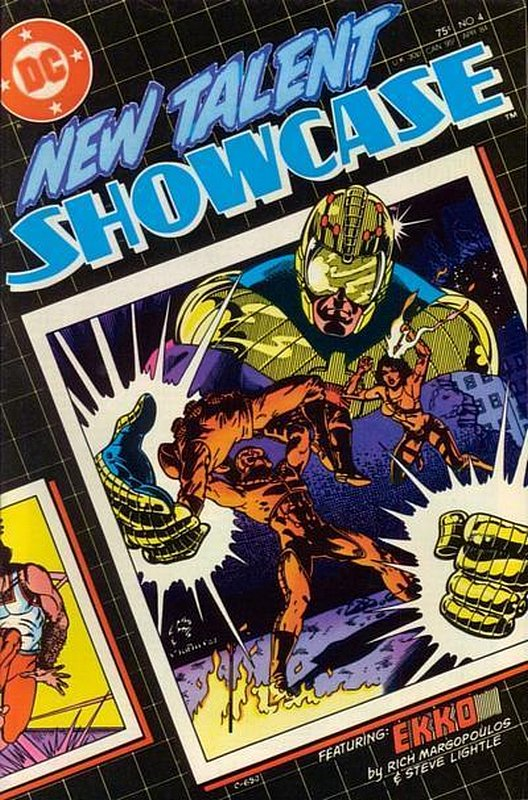 Cover of New Talent Showcase (Vol 1) #4. One of 250,000 Vintage American Comics on sale from Krypton!
