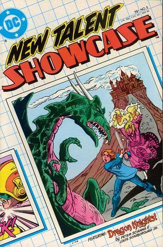 Cover of New Talent Showcase (Vol 1) #5. One of 250,000 Vintage American Comics on sale from Krypton!