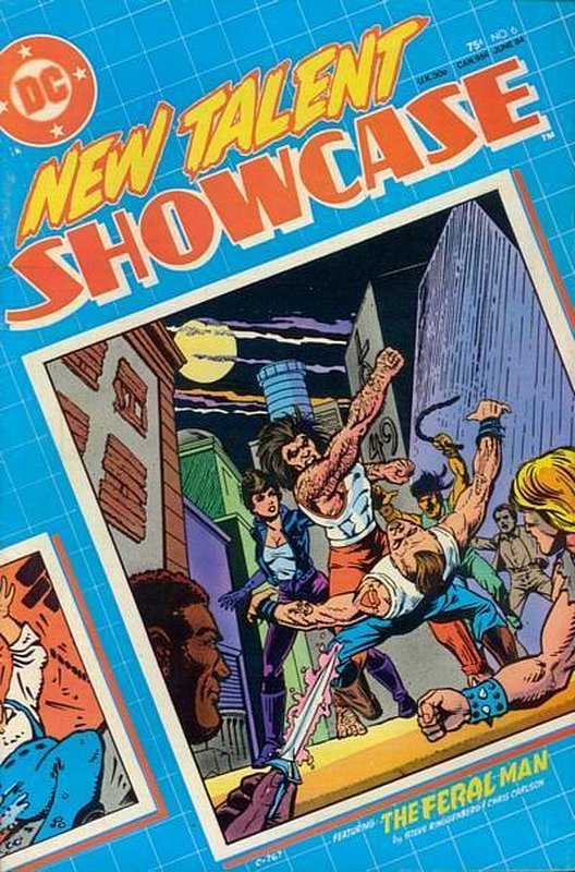 Cover of New Talent Showcase (Vol 1) #6. One of 250,000 Vintage American Comics on sale from Krypton!
