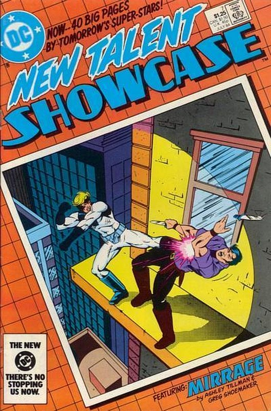 Cover of New Talent Showcase (Vol 1) #7. One of 250,000 Vintage American Comics on sale from Krypton!