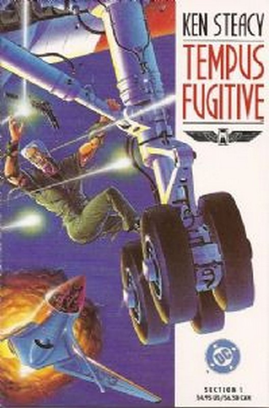 Cover of Tempus Fugitive (1990 Ltd) #1. One of 250,000 Vintage American Comics on sale from Krypton!