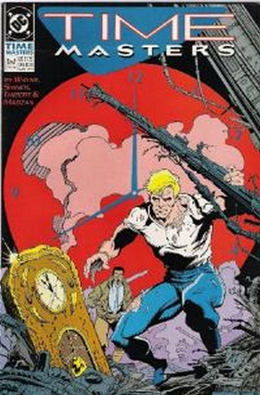 Cover of Time Masters (1990 Ltd) #2. One of 250,000 Vintage American Comics on sale from Krypton!