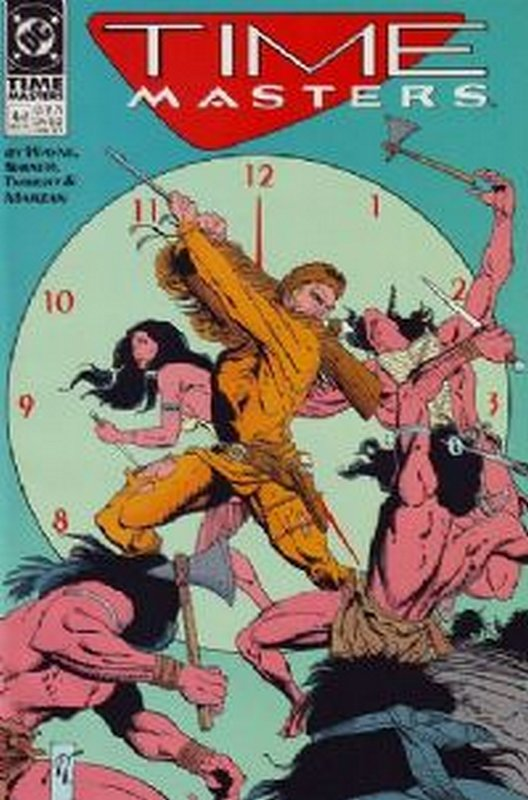 Cover of Time Masters (1990 Ltd) #4. One of 250,000 Vintage American Comics on sale from Krypton!