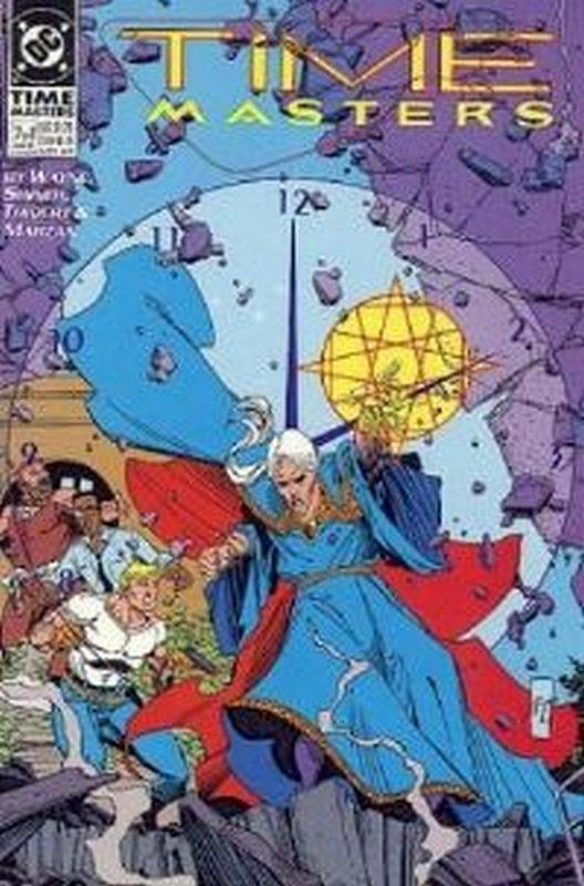 Cover of Time Masters (1990 Ltd) #7. One of 250,000 Vintage American Comics on sale from Krypton!