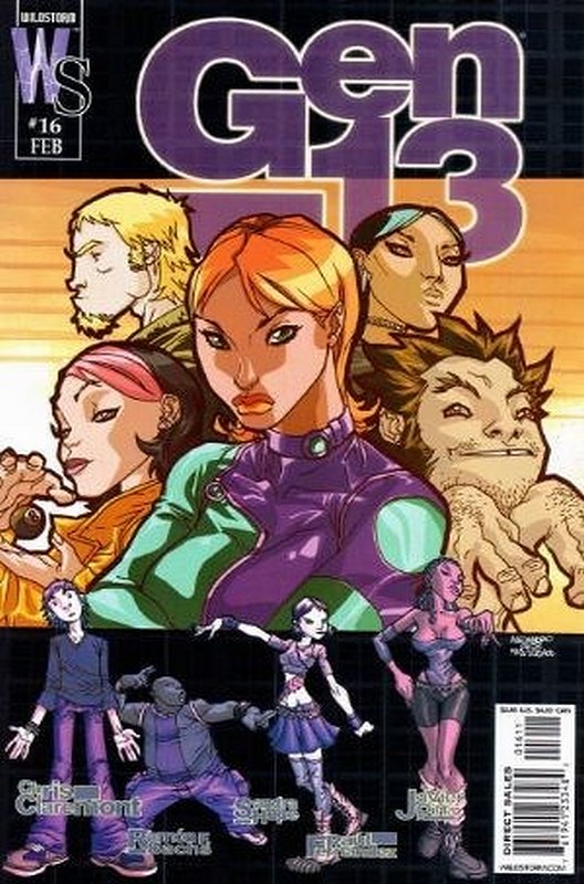 Cover of Gen 13 (Vol 3) #16. One of 250,000 Vintage American Comics on sale from Krypton!