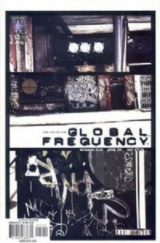 Cover of Global Frequency (2002 Ltd) #12. One of 250,000 Vintage American Comics on sale from Krypton!
