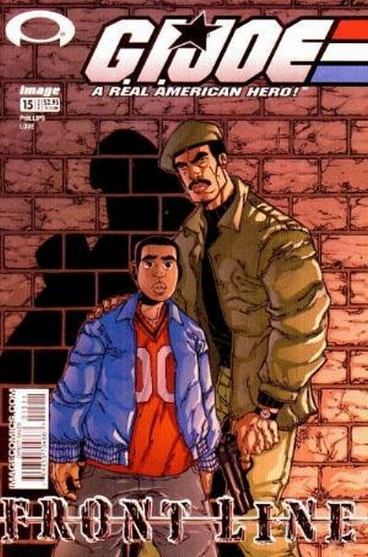 Cover of GI Joe: Frontline (Vol 1) #15. One of 250,000 Vintage American Comics on sale from Krypton!