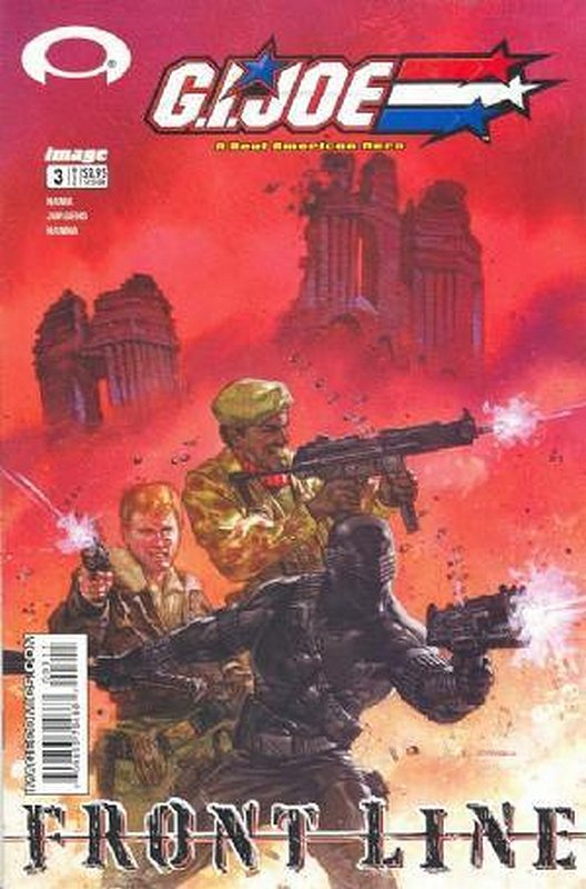 Cover of GI Joe: Frontline (Vol 1) #3. One of 250,000 Vintage American Comics on sale from Krypton!