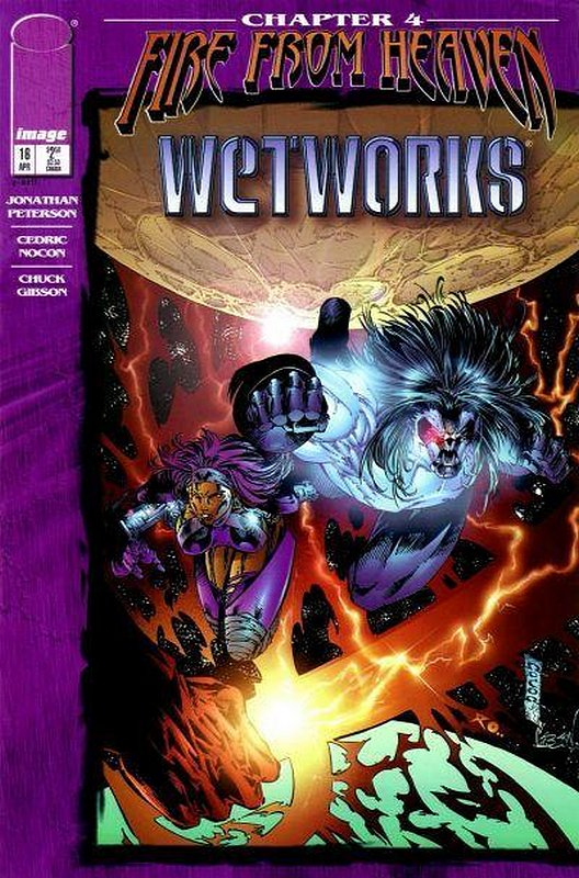 Cover of Wetworks (Vol 1) #16. One of 250,000 Vintage American Comics on sale from Krypton!