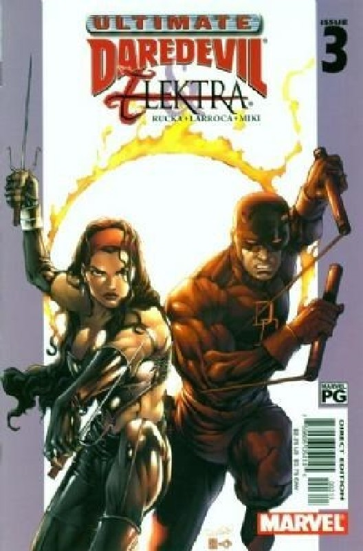 Cover of Ultimate Daredevil & Elektra (2002 Ltd) #3. One of 250,000 Vintage American Comics on sale from Krypton!