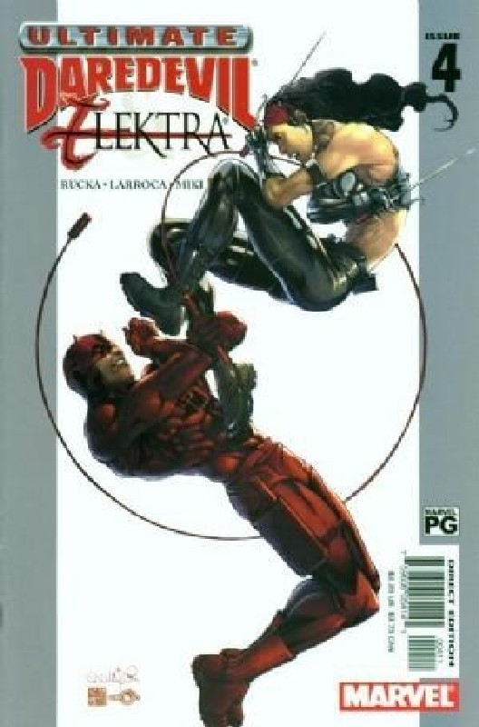 Cover of Ultimate Daredevil & Elektra (2002 Ltd) #4. One of 250,000 Vintage American Comics on sale from Krypton!