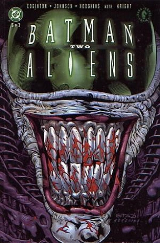 Cover of Batman/Aliens II (2002 Ltd) #3. One of 250,000 Vintage American Comics on sale from Krypton!