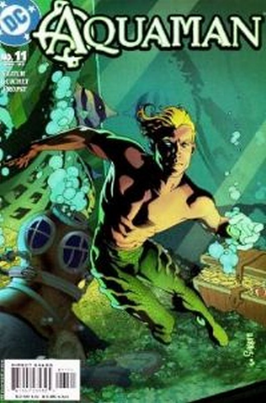 Cover of Aquaman (Vol 4) #11. One of 250,000 Vintage American Comics on sale from Krypton!