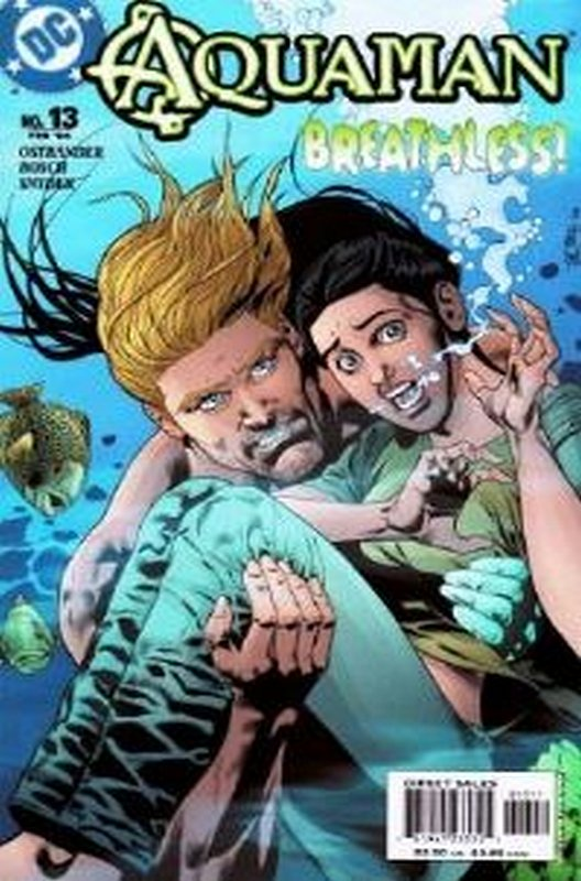 Cover of Aquaman (Vol 4) #13. One of 250,000 Vintage American Comics on sale from Krypton!