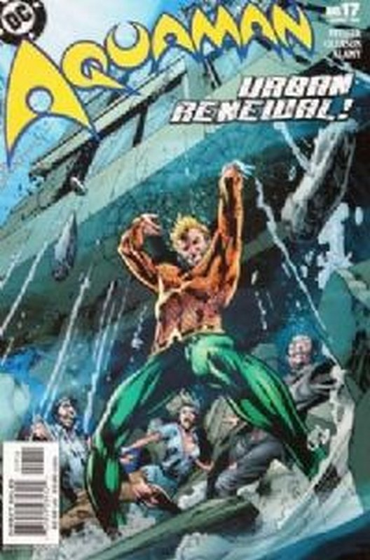 Cover of Aquaman (Vol 4) #17. One of 250,000 Vintage American Comics on sale from Krypton!