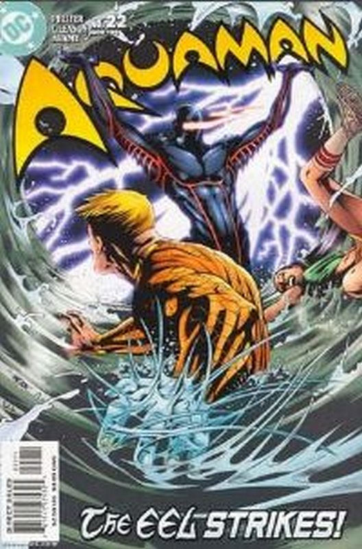 Cover of Aquaman (Vol 4) #22. One of 250,000 Vintage American Comics on sale from Krypton!