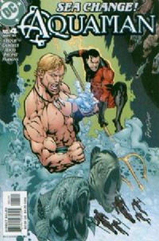 Cover of Aquaman (Vol 4) #4. One of 250,000 Vintage American Comics on sale from Krypton!