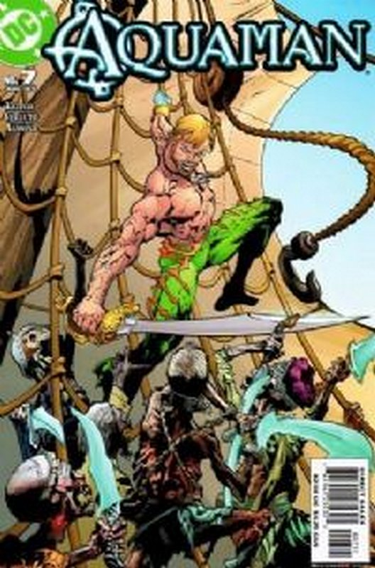 Cover of Aquaman (Vol 4) #7. One of 250,000 Vintage American Comics on sale from Krypton!